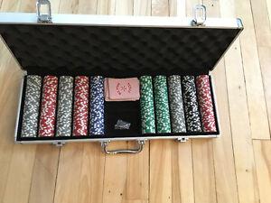 Ensemble de poker de qualité ** 500 Jetons **