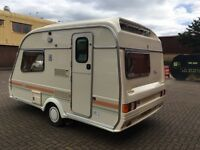 Avondale 2 berth caravan in showroom condition