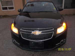 CERTIFIED 2013 Chevy Cruze RS    HOT SPORTY CONTROL
