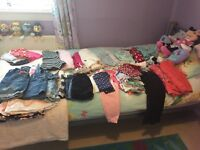 2 big bags girls age 3/4 years clothes