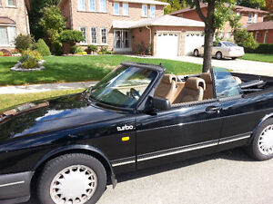 1989 Saab 900 Leather Convertible