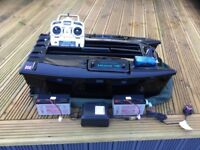 Microcat hd bait boat, with additional fast charger and voltage meter
