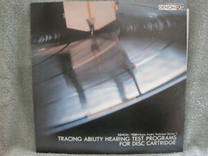 VINYL LP – DENON - TRACING ABILITY AND HEARING TEST - MINT!!