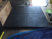 Rubber gym / garage flooring