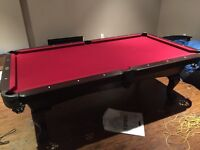 Essentially Brand New Billiard Table & Accessories