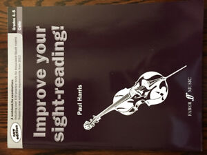 Sight Reading and Ear Training prep materials for RCM cello
