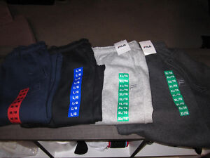 Track Pants, Fila,  Med., Large, XL, XXL;Sm. Champion, Br. NEW