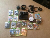 X box 360 plus games