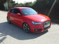 2013 Audi A1 2.0 TDI Black Edition 3dr DAMAGED SPARES OR REPAIR SALVAGE HATCHBAC