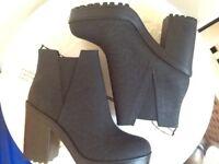 ❤️💛H&M black boots brand new size euro 40 ladies 6 1/2