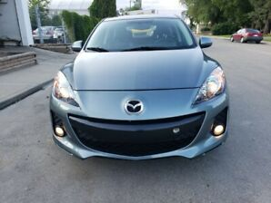 Magnificent 2013 Mazda 3 fully loaded