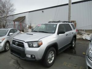 2012 Toyota 4Runner SR5 Loaded sold AS IS BUT WITH MVI