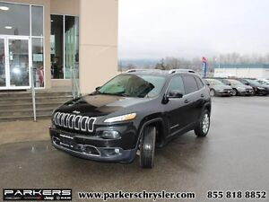 2014 Jeep Cherokee Limited   - Limited- 4x4- Leather