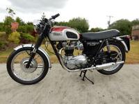 TRIUMPH BONNEVILLE T120R 1969 650cc Matching Numbers