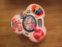 Pink play table