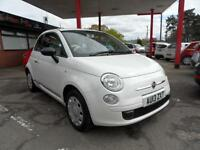 13 (13) FIAT 500 1.2 POP START/STOP, ONLY 23,800 MILES £30 ROAD TAX