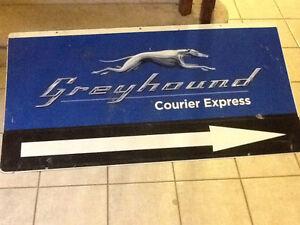 Greyhound signs