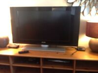 """38 """" Philips flat screen television"""
