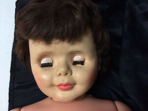 "Vintage 1960's doll Halloween creepy prop 34"" ugly scary London Ontario image 8"