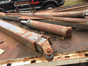 Large quantity of scrap metal and industrial items