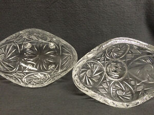 Collectible Antique Crystal Pinwheel Covered Candy Dish London Ontario image 7