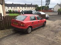 Cheap vauxhall astra with 6 months mot