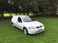 Vauxhall Astra van 1.7 CDTI 2004 12 months MOT
