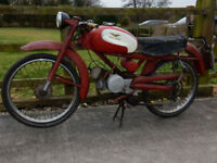 MOTO GUZZI CARDELLINO 1958 73cc MATCHING FRAME AND ENGINE NUMBERS