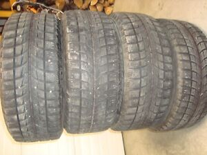 4 255/55r18 bridgestone  blizzak lm60 winter tires