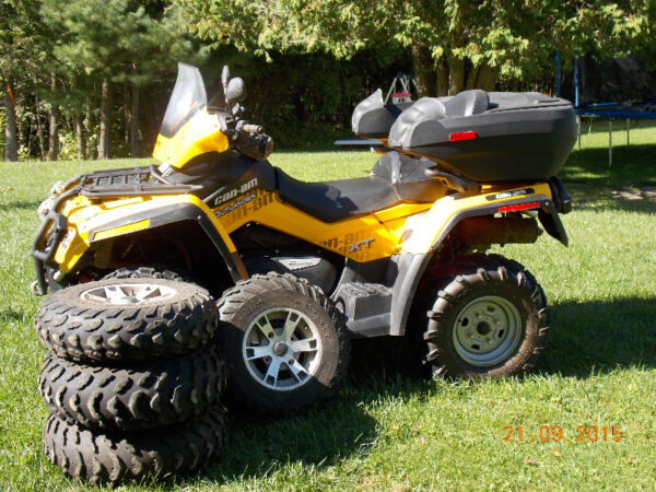 Used 2009 BRP outlander max 650 xt
