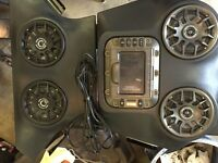 RZR SSV WORKS OVERHEAD STEREO