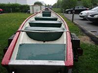 Canot freighter marque Rawdon