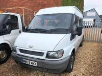 2003 Ford TRANSIT MWB MINIBUS COMPLETE WITH M.O.T AND WARRANTY