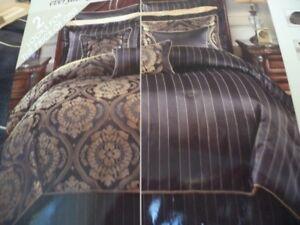8-pce Reversible Comforter Set