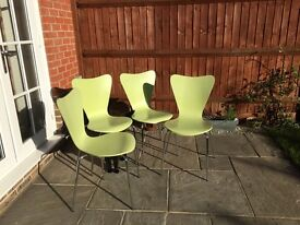 Four Bistro Style Kitchen Chairs