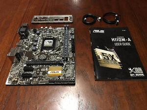 ASUS H110M-A microATX Motherboard