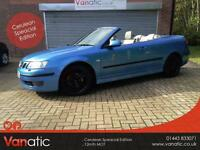 2006/55 Saab 9-3 1.9TiD ( 150bhp ) Convertible Vector Cerulean Speacial Edition