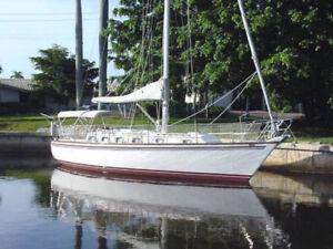 Endeavour 35 1985 Lac Champlain, ile aux noix