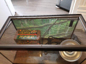 Starter Cage perfect for leopard geckos or bearded dragons