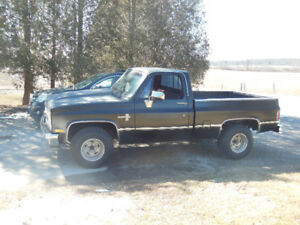 87 Chev short box