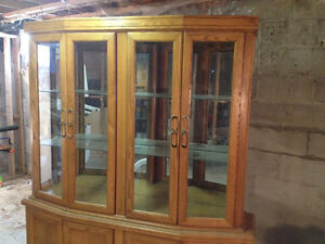 Wall hutch cabinet in great condition!