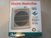 Duracraft Electric Heater Fan