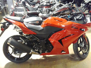 2012 Kawasaki Ninja 250R  Mint condition, Lovely Passion Red