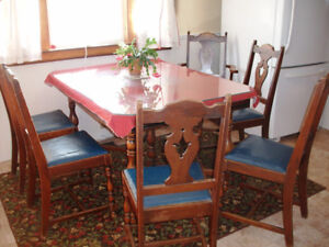 VINTAGE 1930s TABLE and CHAIRS located in ST STEPHEN