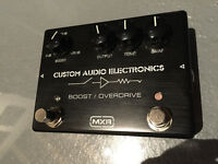 MXR mc402 BOOST/OVERDRIVE Custom Audio Electronic