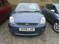 2006 FORD FIESTA 1.4 Zetec 5dr [Climate] ideal ist car