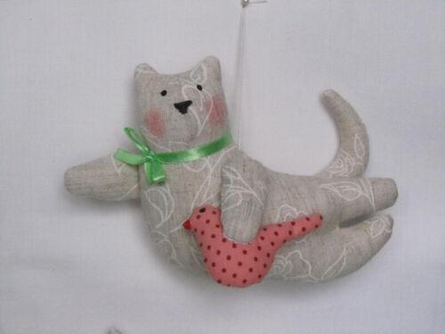 Handmade kitty cat plush toy