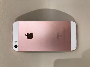 16GB Rose Gold IPhone SE