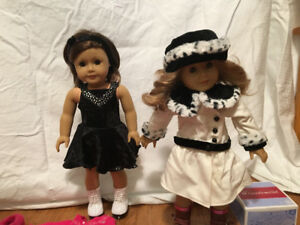 American Girl: 2 Dolls and Clothes
