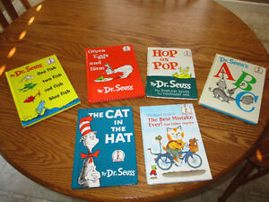 5 Dr Seuss and 1 Richard Scarry Books London Ontario image 1
